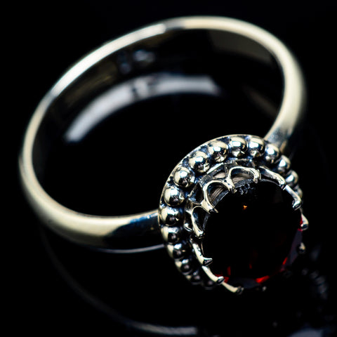 Garnet Rings handcrafted by Ana Silver Co - RING22853