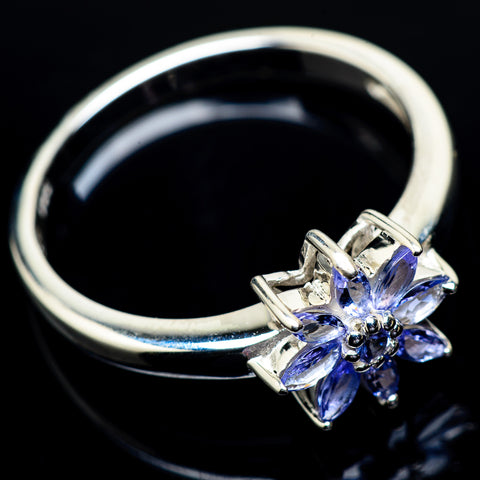 Tanzanite Rings handcrafted by Ana Silver Co - RING22858