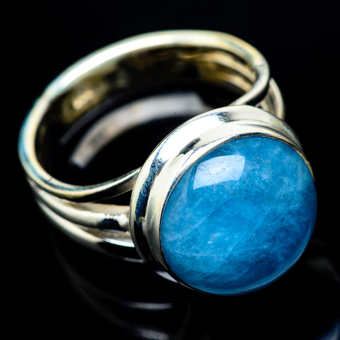Chrysocolla In Quartz Rings handcrafted by Ana Silver Co - RING22870