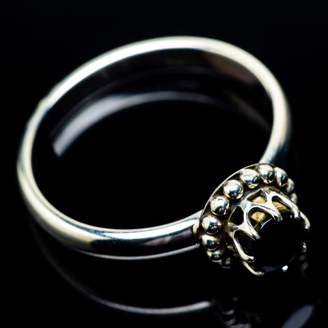 Black Onyx Rings handcrafted by Ana Silver Co - RING22917