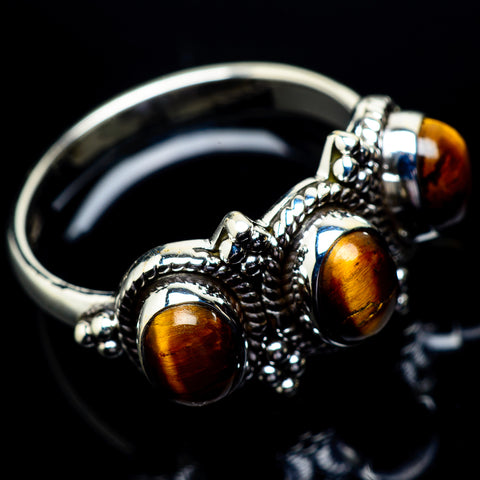 Tiger Eye Rings handcrafted by Ana Silver Co - RING22956