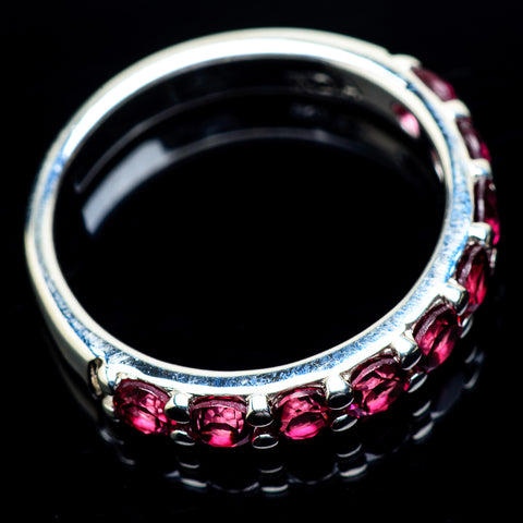 Pink Tourmaline Rings handcrafted by Ana Silver Co - RING22960