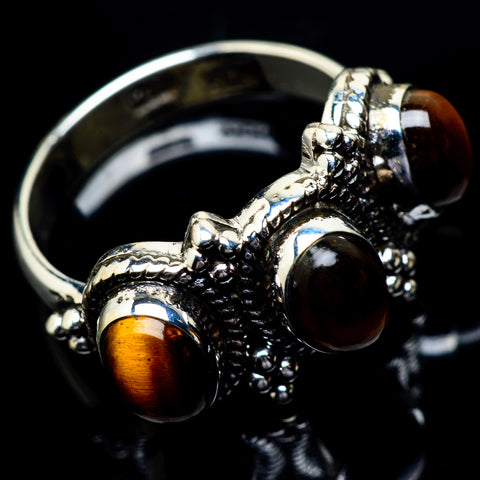 Tiger Eye Rings handcrafted by Ana Silver Co - RING22985