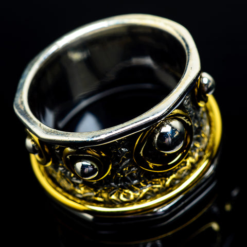 Meditation Spinner Rings handcrafted by Ana Silver Co - RING23043