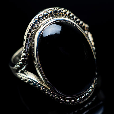 Psilomelane Rings handcrafted by Ana Silver Co - RING23065