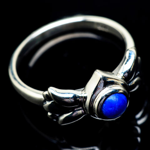 Lapis Lazuli Rings handcrafted by Ana Silver Co - RING23071
