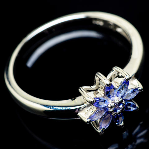 Tanzanite Rings handcrafted by Ana Silver Co - RING23079