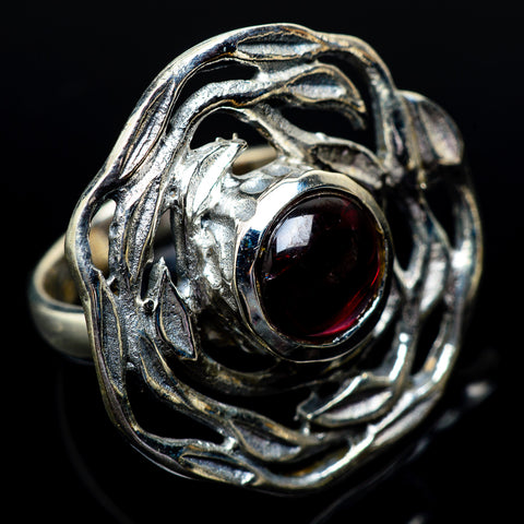 Garnet Rings handcrafted by Ana Silver Co - RING23172