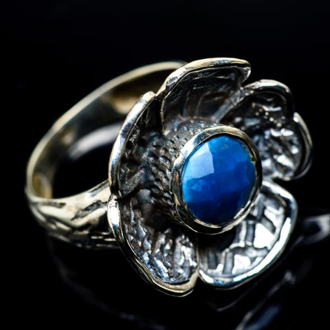 Chrysocolla In Quartz Rings handcrafted by Ana Silver Co - RING23450