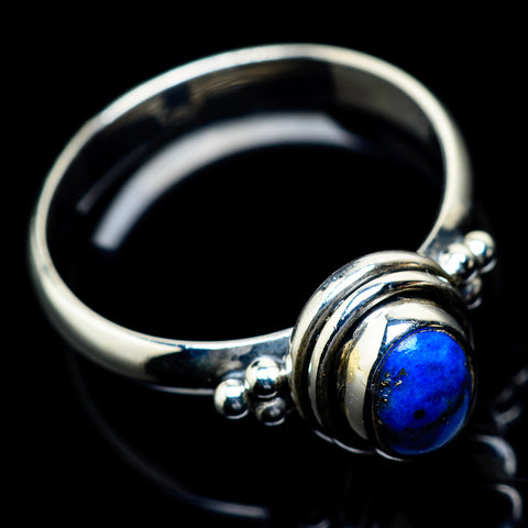 Lapis Lazuli Rings handcrafted by Ana Silver Co - RING23485