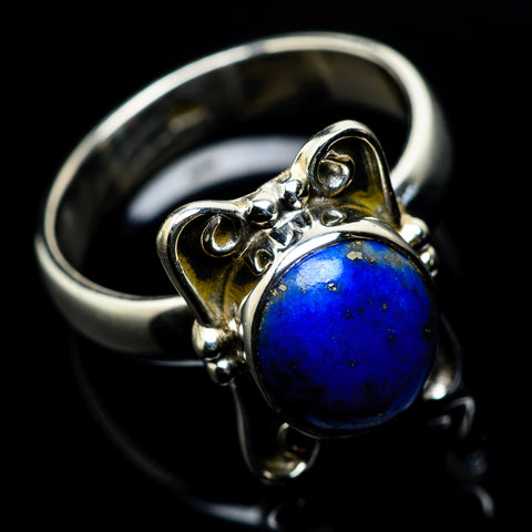 Lapis Lazuli Rings handcrafted by Ana Silver Co - RING23513