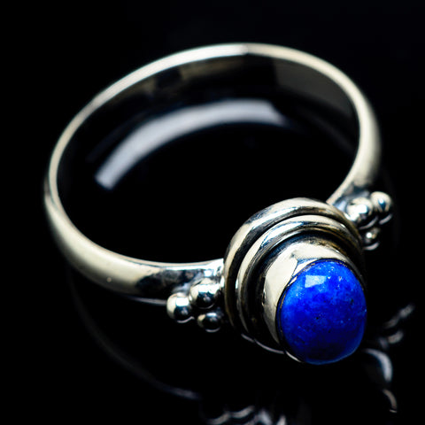Lapis Lazuli Rings handcrafted by Ana Silver Co - RING23537
