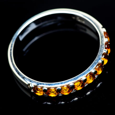 Mandarin Citrine Rings handcrafted by Ana Silver Co - RING23548