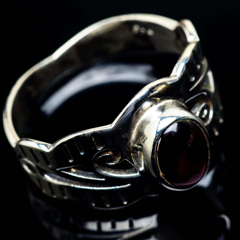 Garnet Rings handcrafted by Ana Silver Co - RING23552