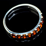 Mandarin Citrine Rings handcrafted by Ana Silver Co - RING23592