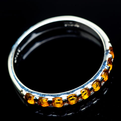 Mandarin Citrine Rings handcrafted by Ana Silver Co - RING23614