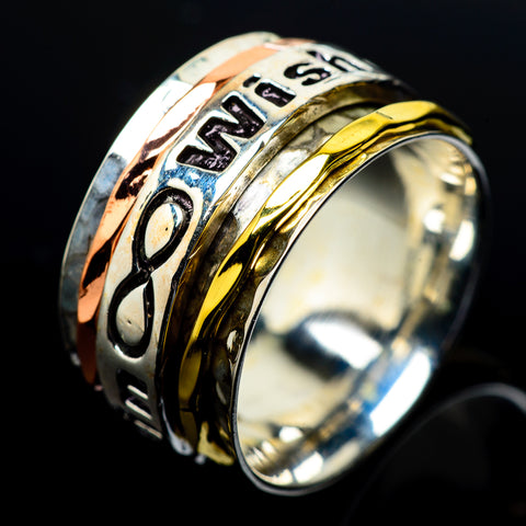 Meditation Spinner Rings handcrafted by Ana Silver Co - RING23641