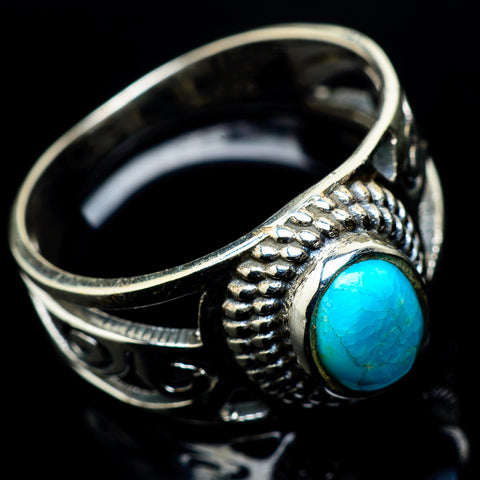 Turquoise Rings handcrafted by Ana Silver Co - RING23671