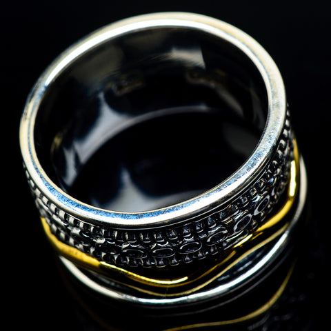Meditation Spinner Rings handcrafted by Ana Silver Co - RING23680