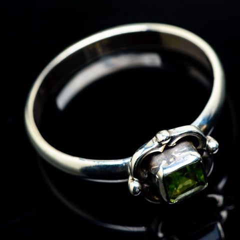 Peridot Rings handcrafted by Ana Silver Co - RING23709