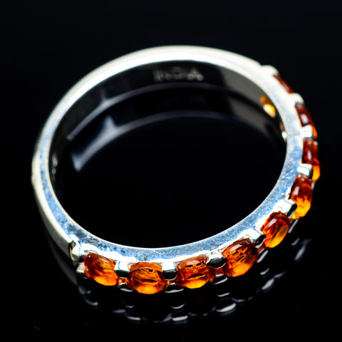 Mandarin Citrine Rings handcrafted by Ana Silver Co - RING23712