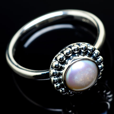 Cultured Pearl Rings handcrafted by Ana Silver Co - RING23752
