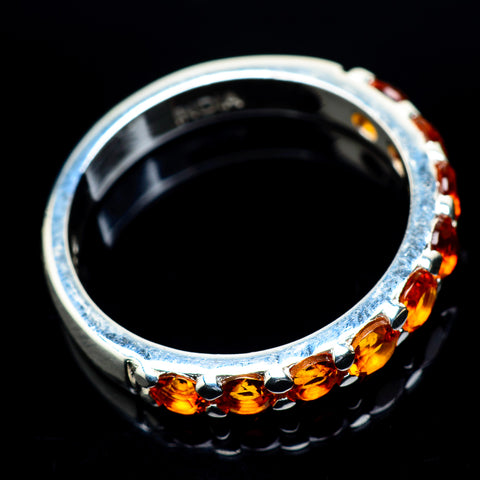 Mandarin Citrine Rings handcrafted by Ana Silver Co - RING23761