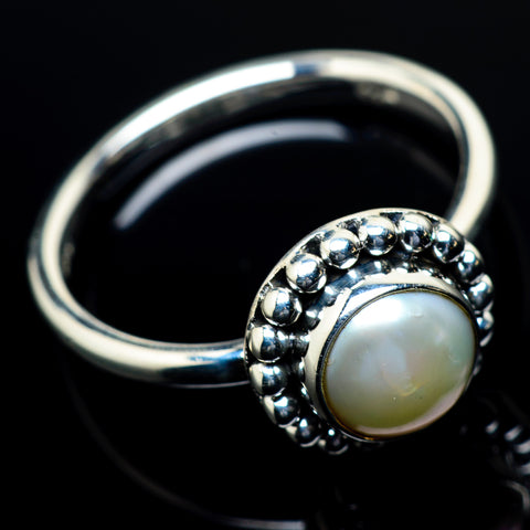 Cultured Pearl Rings handcrafted by Ana Silver Co - RING23768