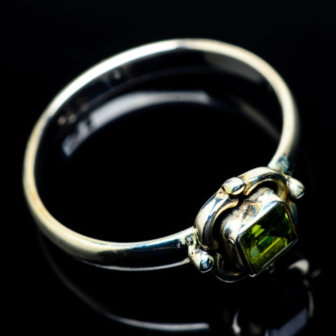 Peridot Rings handcrafted by Ana Silver Co - RING23827