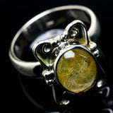 Rutilated Quartz Rings handcrafted by Ana Silver Co - RING23979