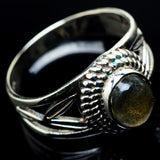 Labradorite Rings handcrafted by Ana Silver Co - RING24066