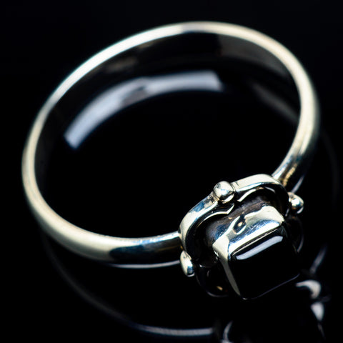 Black Onyx Rings handcrafted by Ana Silver Co - RING24118