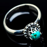 Tibetan Turquoise Rings handcrafted by Ana Silver Co - RING24125