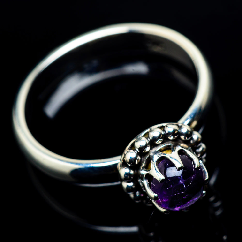Amethyst Rings handcrafted by Ana Silver Co - RING24144