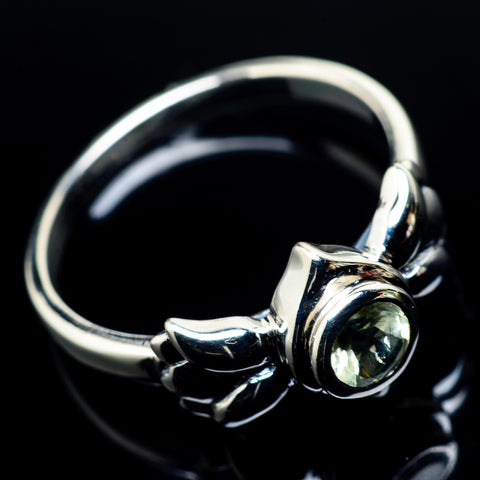 White Quartz Rings handcrafted by Ana Silver Co - RING24153