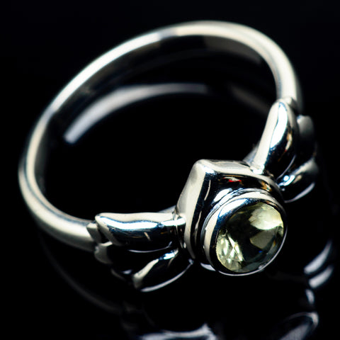 White Quartz Rings handcrafted by Ana Silver Co - RING24177