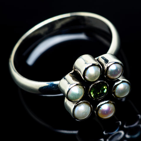 Cultured Pearl Rings handcrafted by Ana Silver Co - RING24227