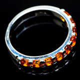 Mandarin Citrine Rings handcrafted by Ana Silver Co - RING24300