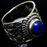 Lapis Lazuli Rings handcrafted by Ana Silver Co - RING24315