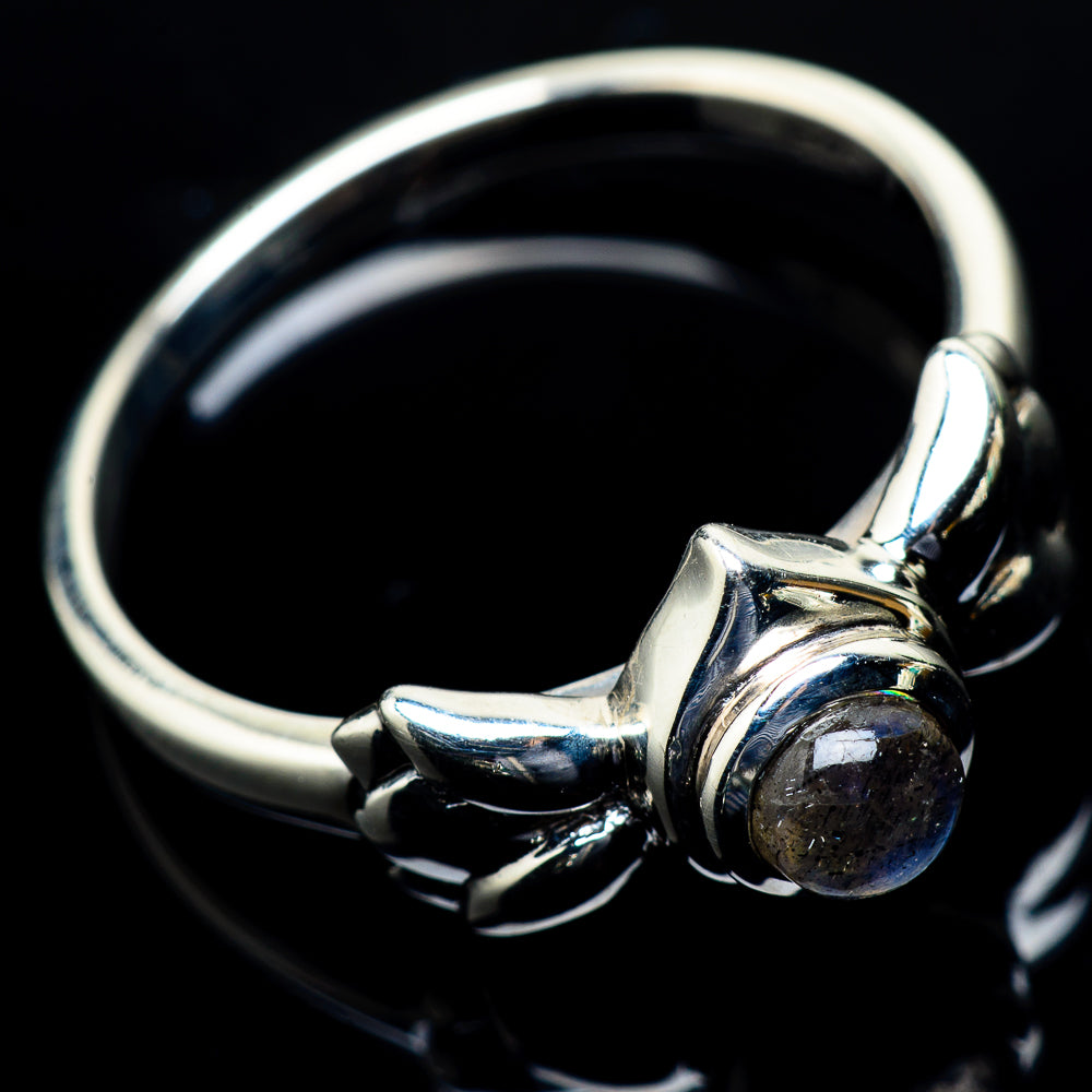Labradorite Rings handcrafted by Ana Silver Co - RING24317