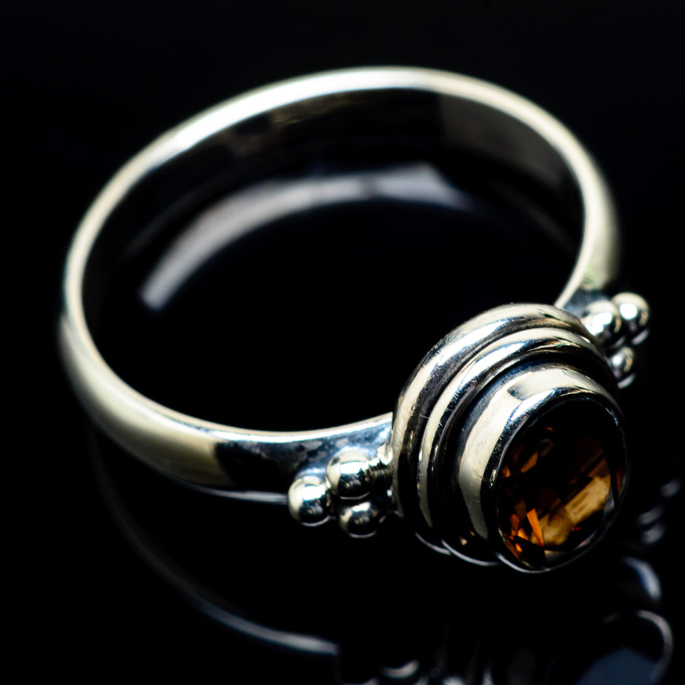 Smoky Quartz Rings handcrafted by Ana Silver Co - RING24354