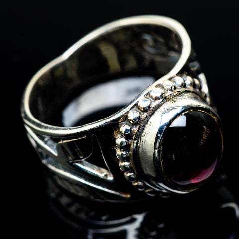 Garnet Rings handcrafted by Ana Silver Co - RING24361
