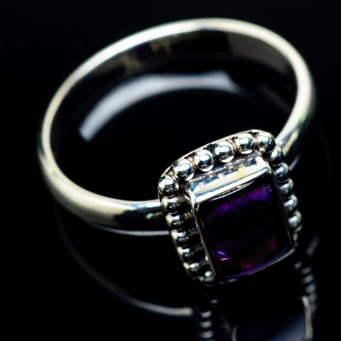 Amethyst Rings handcrafted by Ana Silver Co - RING24363