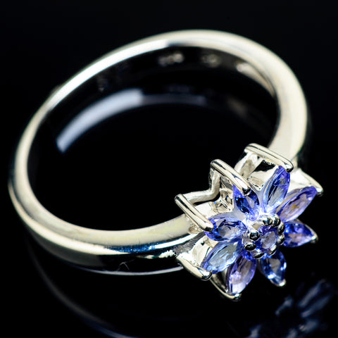 Tanzanite Rings handcrafted by Ana Silver Co - RING24364
