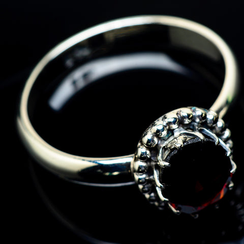 Garnet Rings handcrafted by Ana Silver Co - RING24387