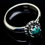 Turquoise Rings handcrafted by Ana Silver Co - RING24430