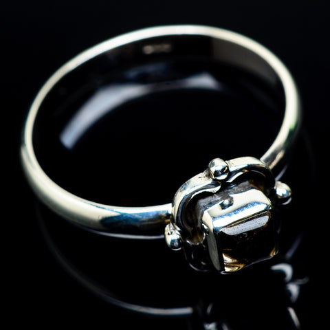 Smoky Quartz Rings handcrafted by Ana Silver Co - RING24434