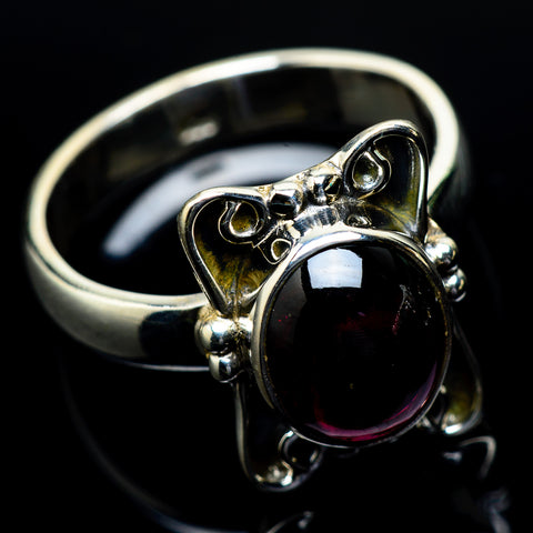 Garnet Rings handcrafted by Ana Silver Co - RING24441