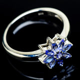 Tanzanite Rings handcrafted by Ana Silver Co - RING24442