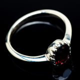 Garnet Rings handcrafted by Ana Silver Co - RING24521